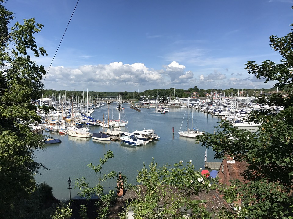 Hampshire England Yacht Uk Marina Boats Bursledon
