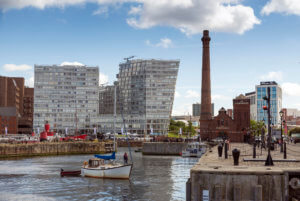 commercial properties in an english city
