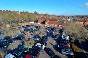 car parks in farnham
