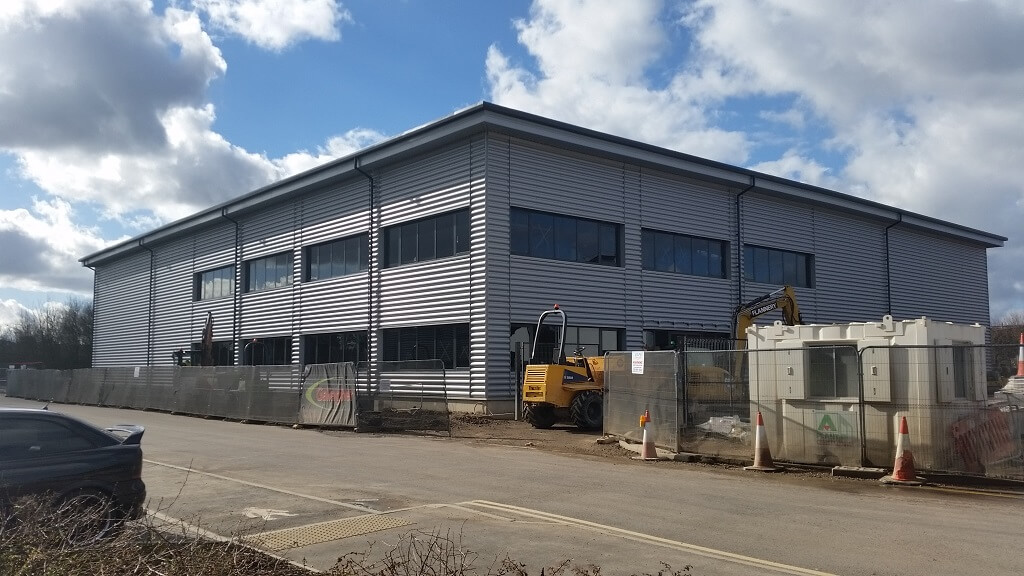 Camberley's latest distribution and industrial facility nears completion