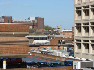 cars parked on a multi storey car park in woking