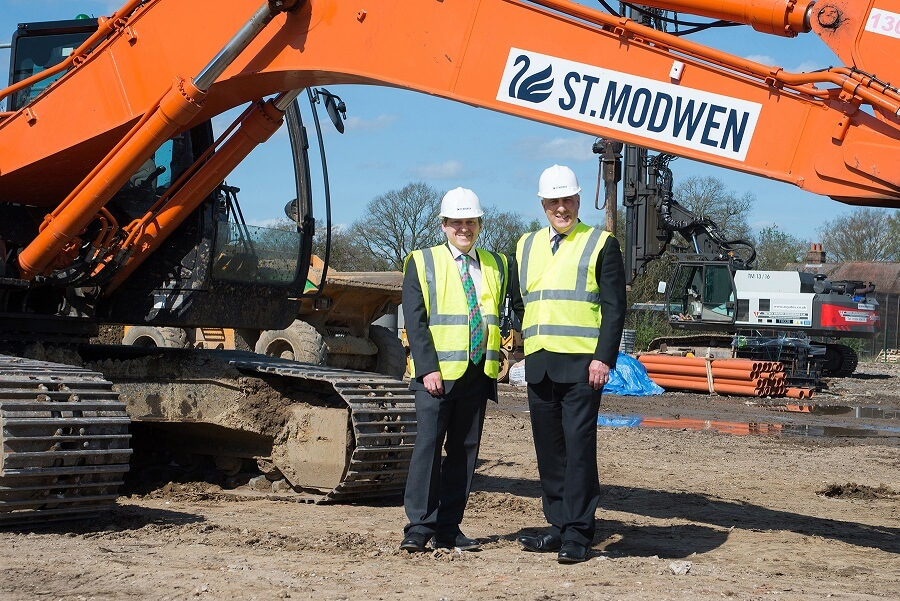 Work starts on final phase of Henley Business Park, Normandy, Guildford, Surrey