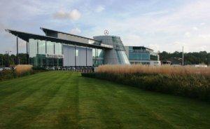mercedes benz world in weybridge