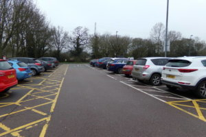 car park in weybridge