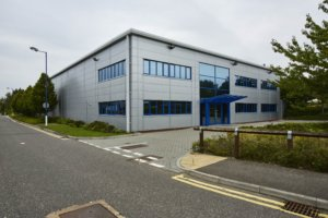 commercial building in watchmoor park camberley