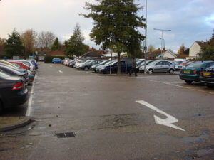 car park in camberley