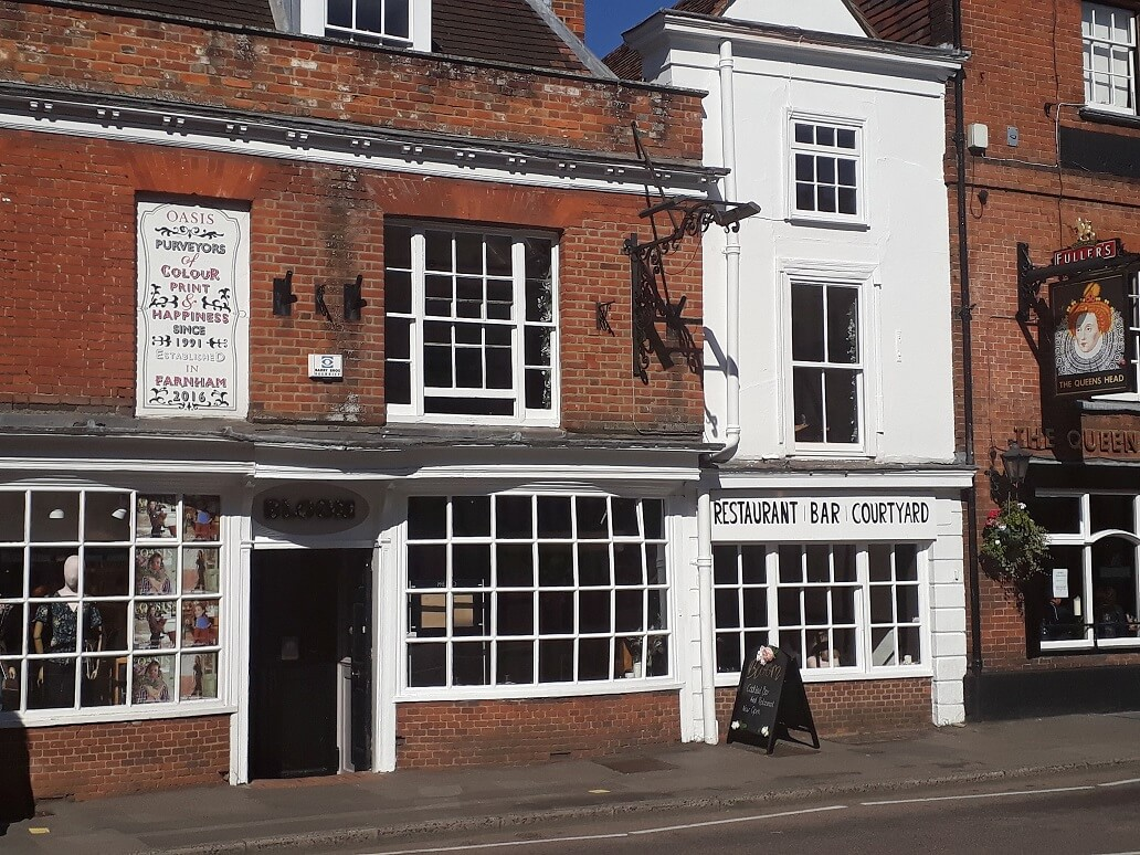 7 The Borough in Farnham to be a Wine Bar again called 'Bloom'