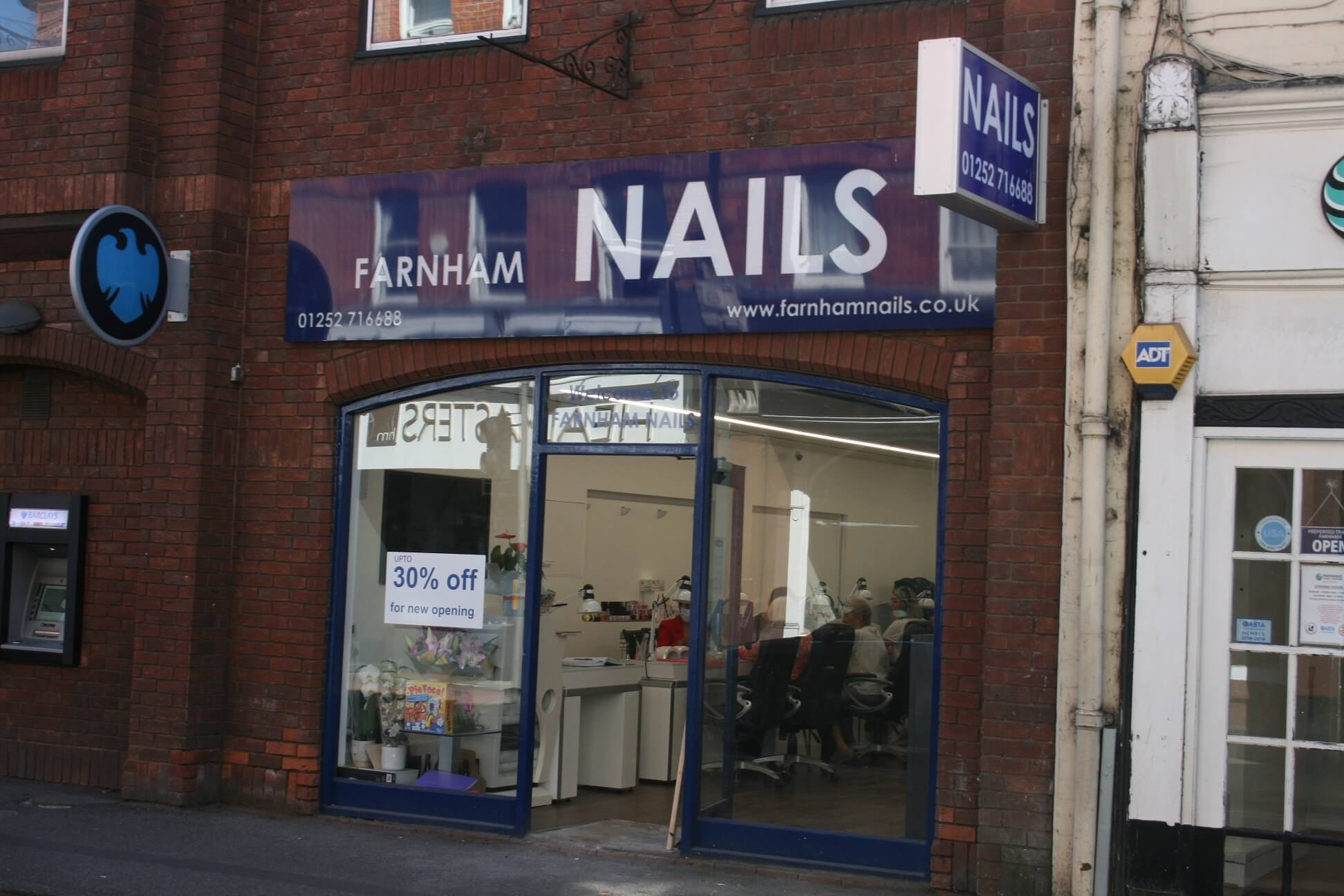Curchod & Co nails retail transaction in Farnham