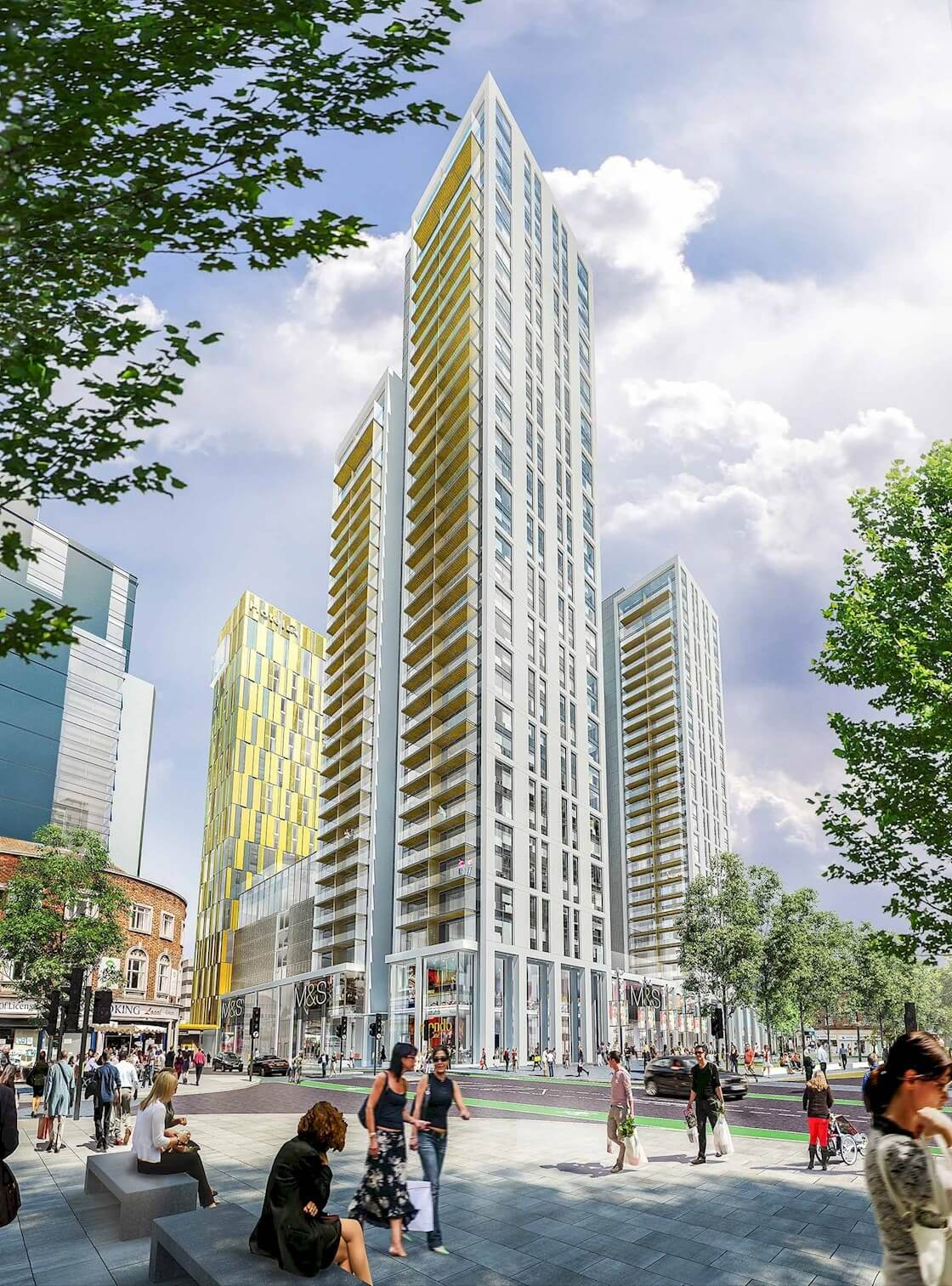 The changing face of Woking
