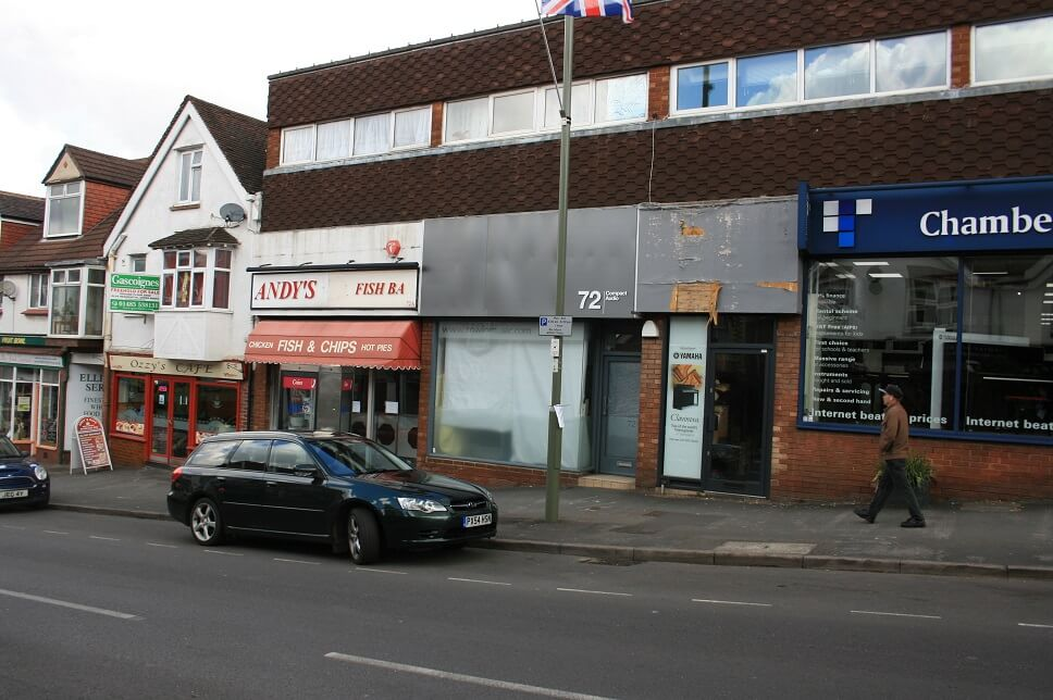 Retail letting in Weyhill, Haslemere
