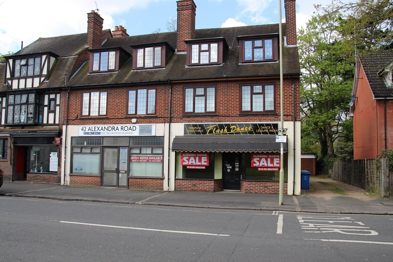 Farnborough retail property letting