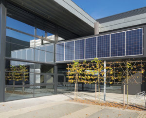 solar panelled office