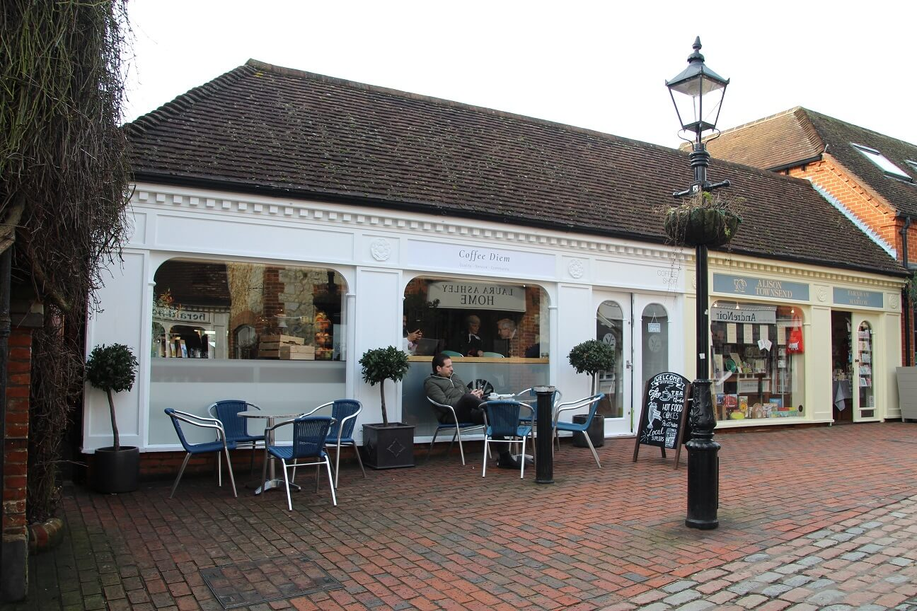 Farnham retail property let to Coffee Diem