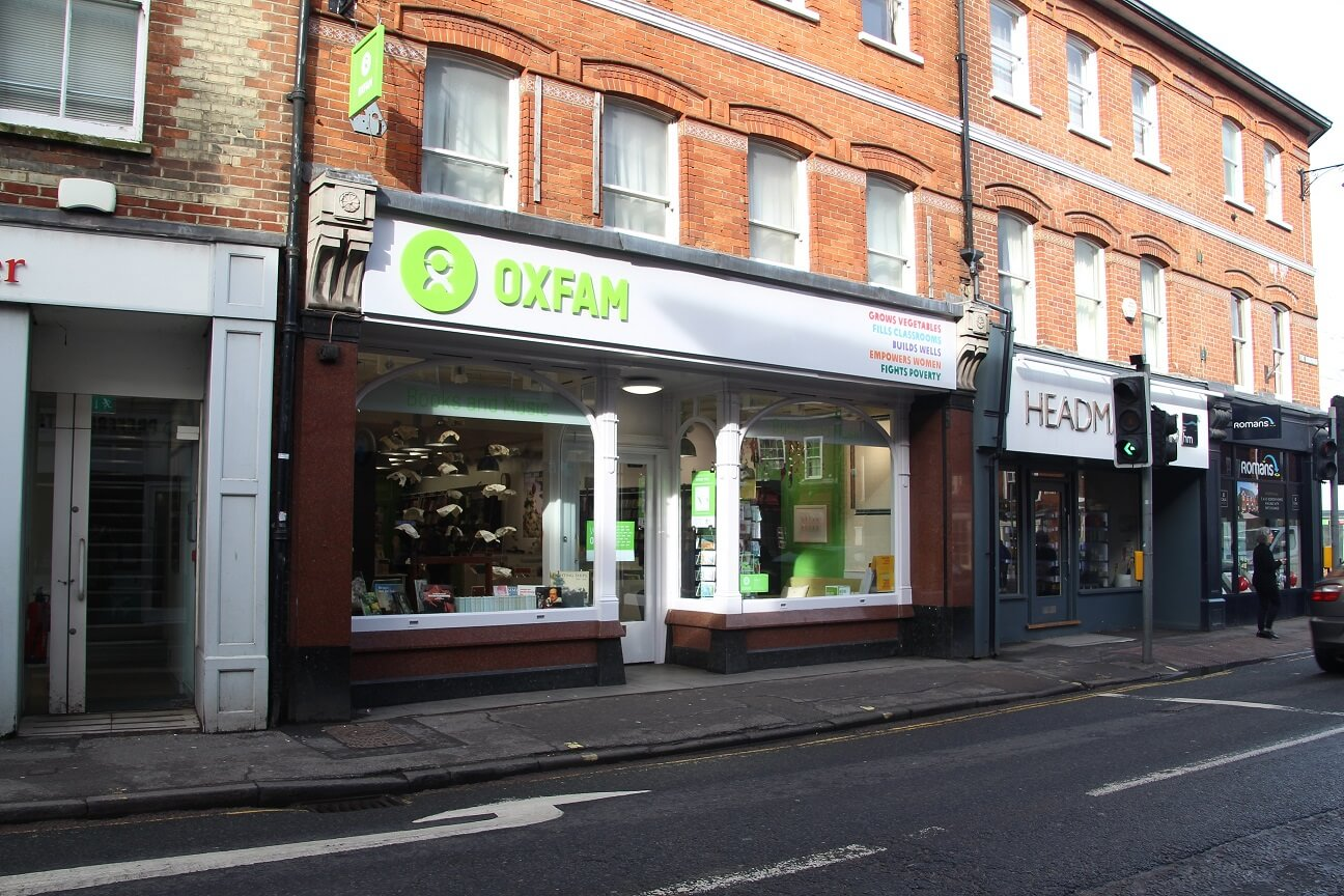 Oxfam takes Farnham shop property