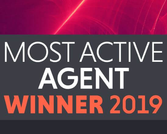 Curchod & Co has been announced as the 'Most Active Commercial Property Agent in Surrey 2019'