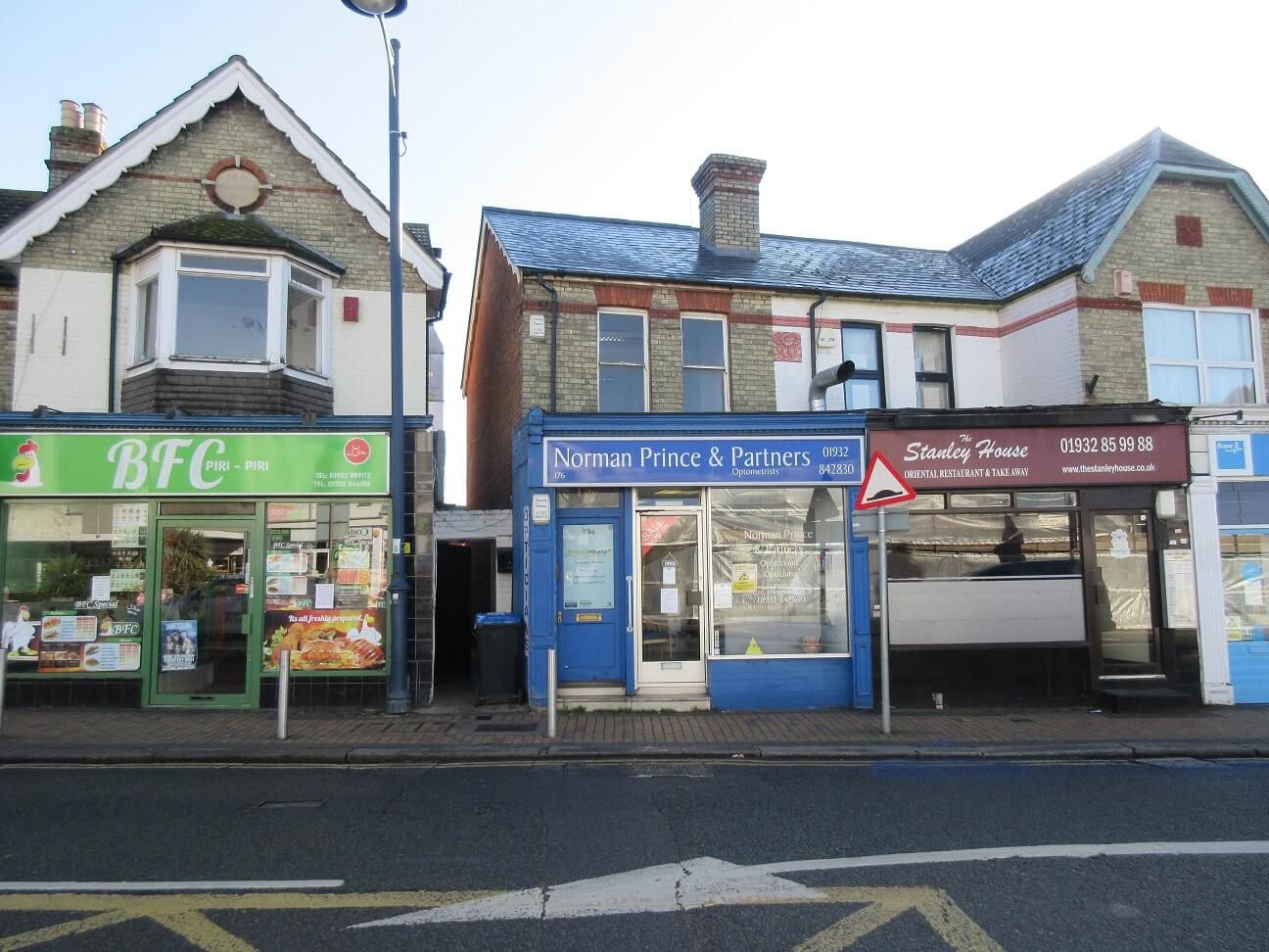 Freehold sale of prominent retail and office property in Addlestone
