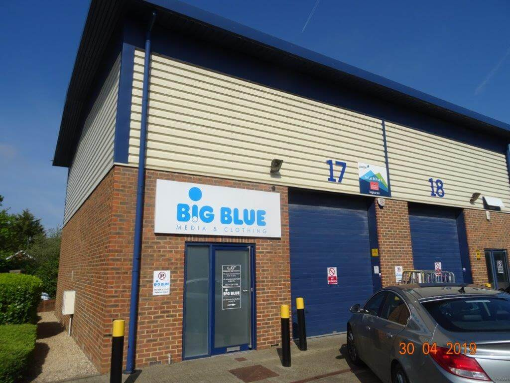 Industrial property let at Helix Business Park, Camberley