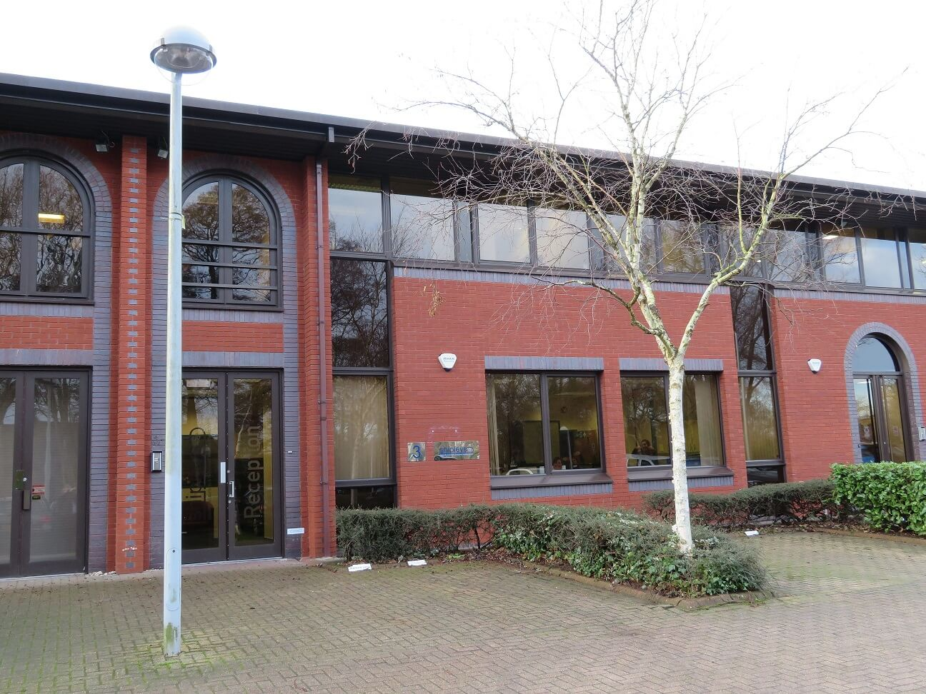 Office space let at Godalming Business Centre, Woolsack Way, Godalming