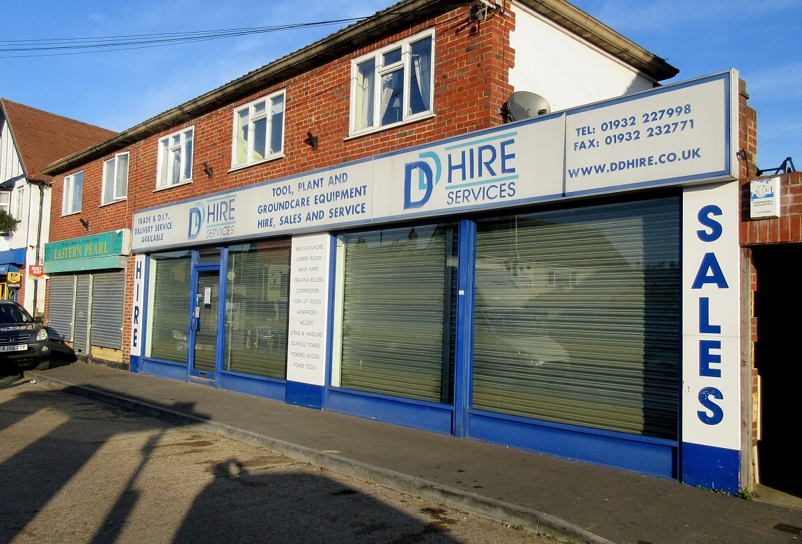 Retail property letting in Shepperton