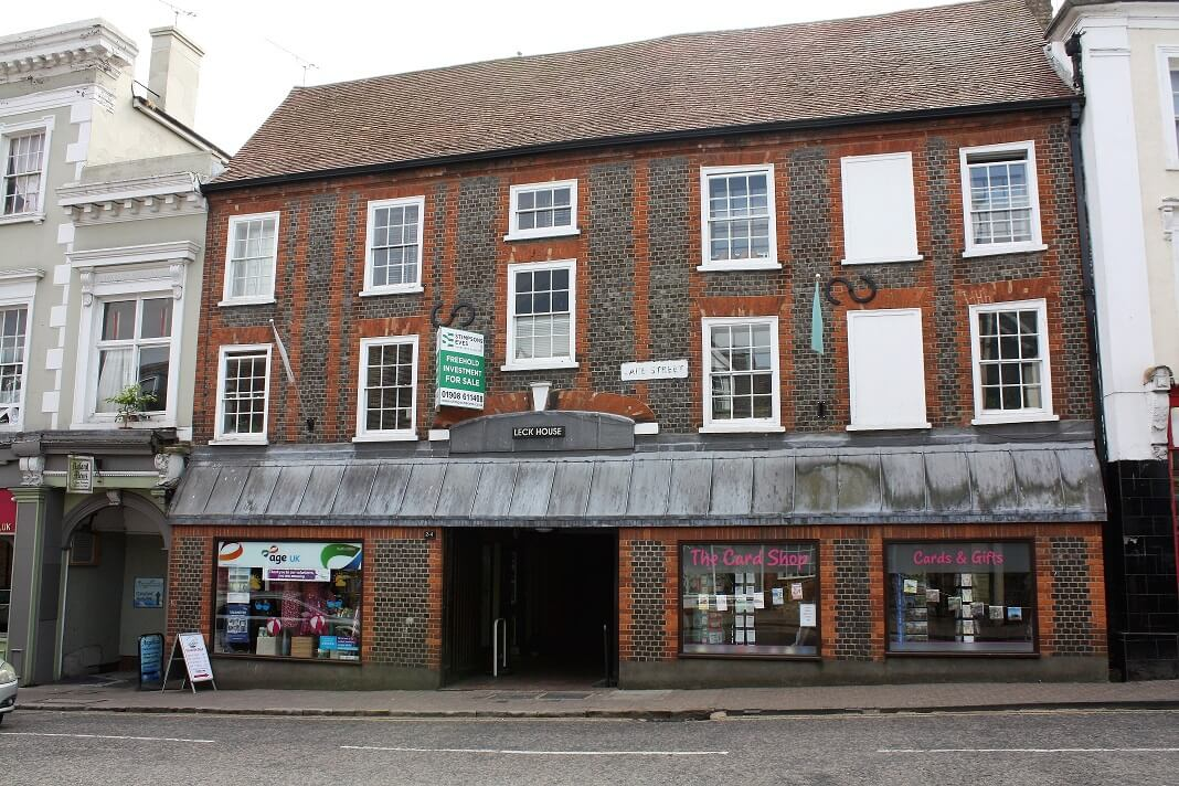Mixed use property investment sold in Leighton Buzzard, Bedfordshire