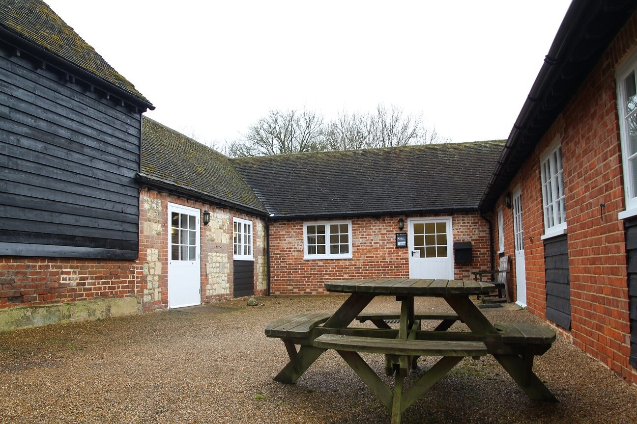 Letting at Shoelands Farm Offices in Surrey