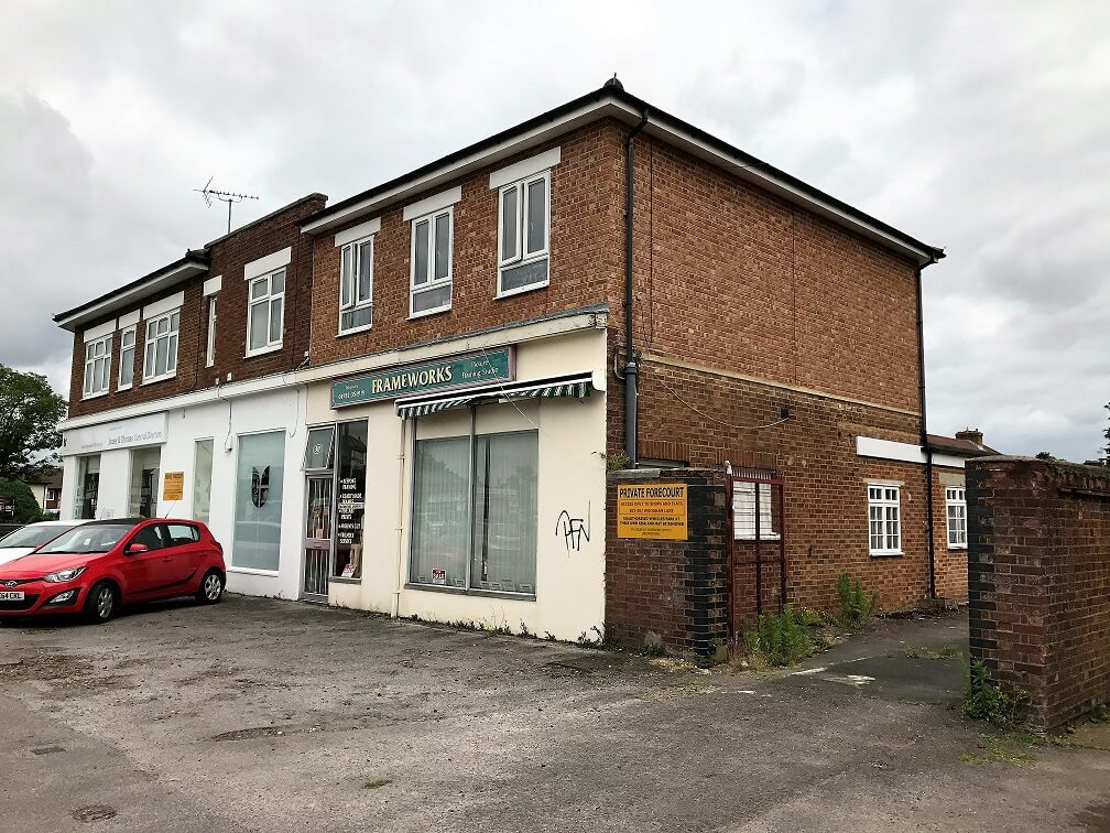 Retail letting of 307 Woodham Lane, New Haw, Surrey