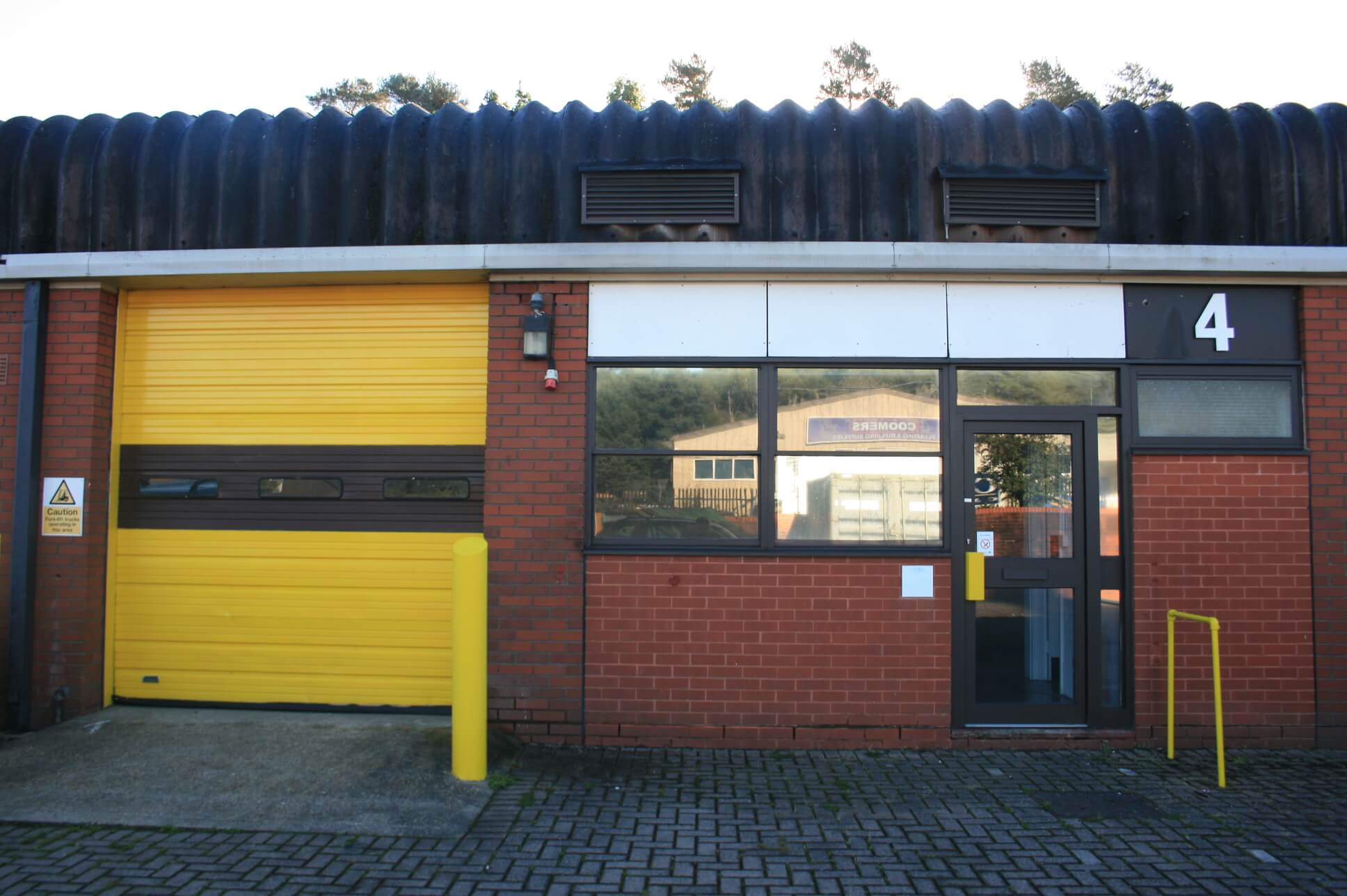 Letting at Woolmer Trading Estate in Bordon