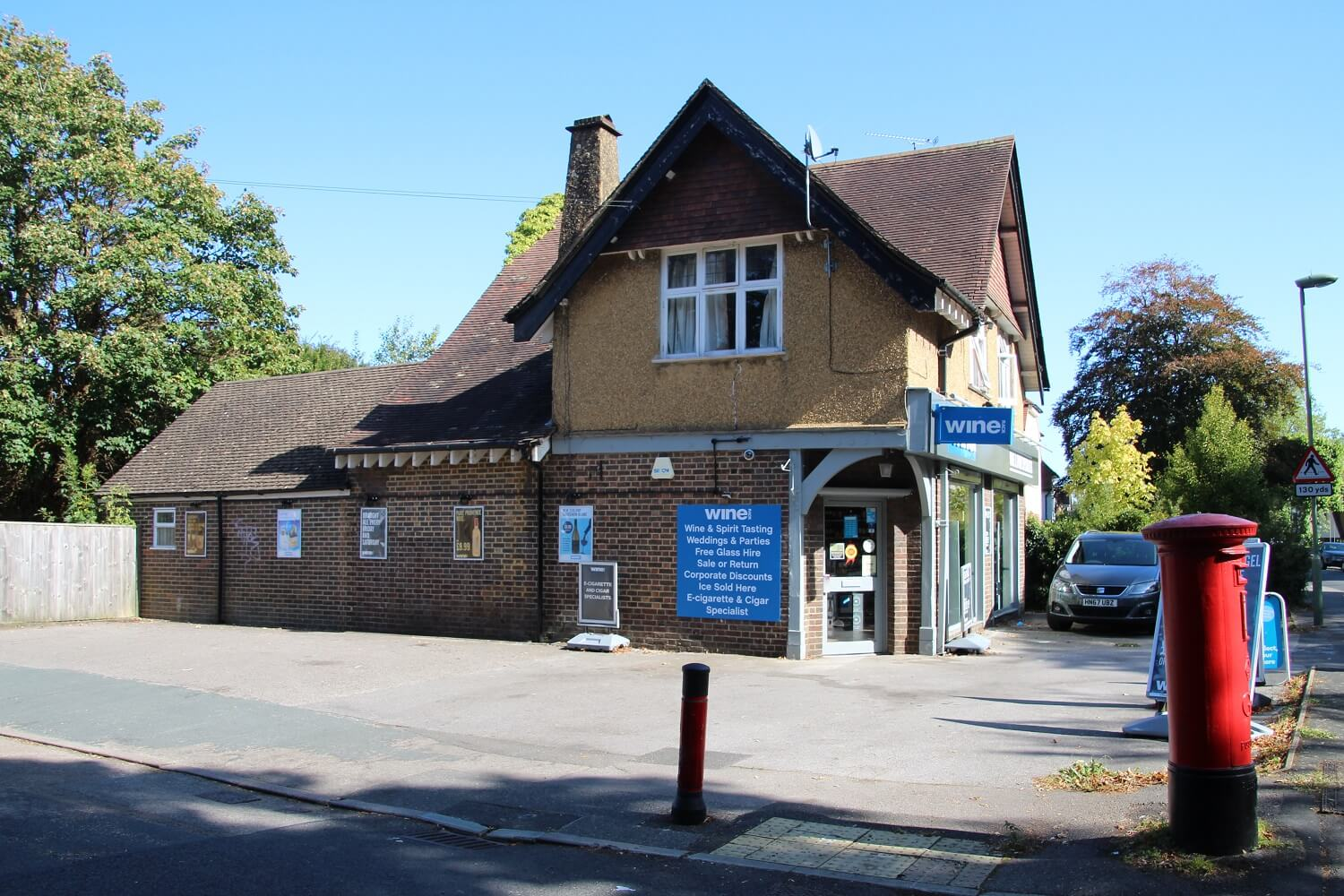 Sale of retail property investment in Farnham