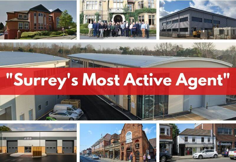 "Curchod & Co is Surrey's ""most active"" commercial property agent for the second year running"