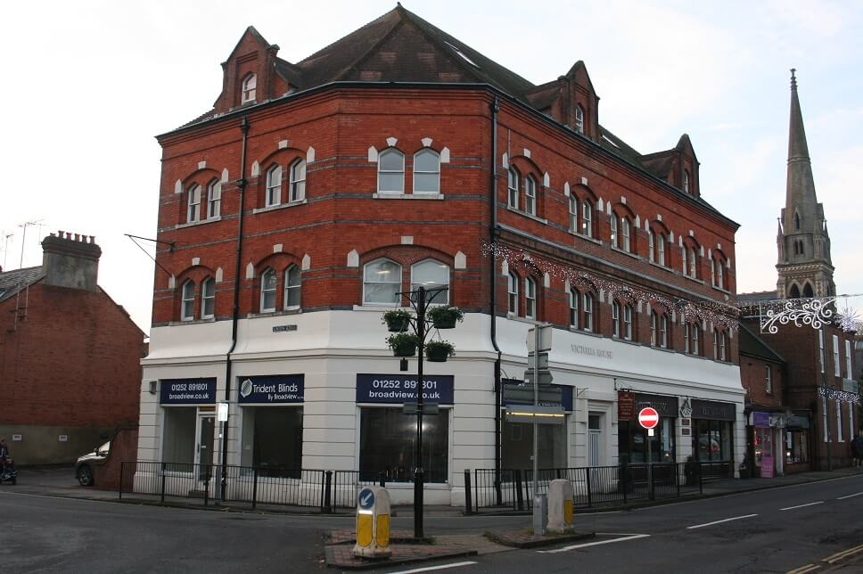 Letting of first floor office suite in Victoria House, South Street, Farnham