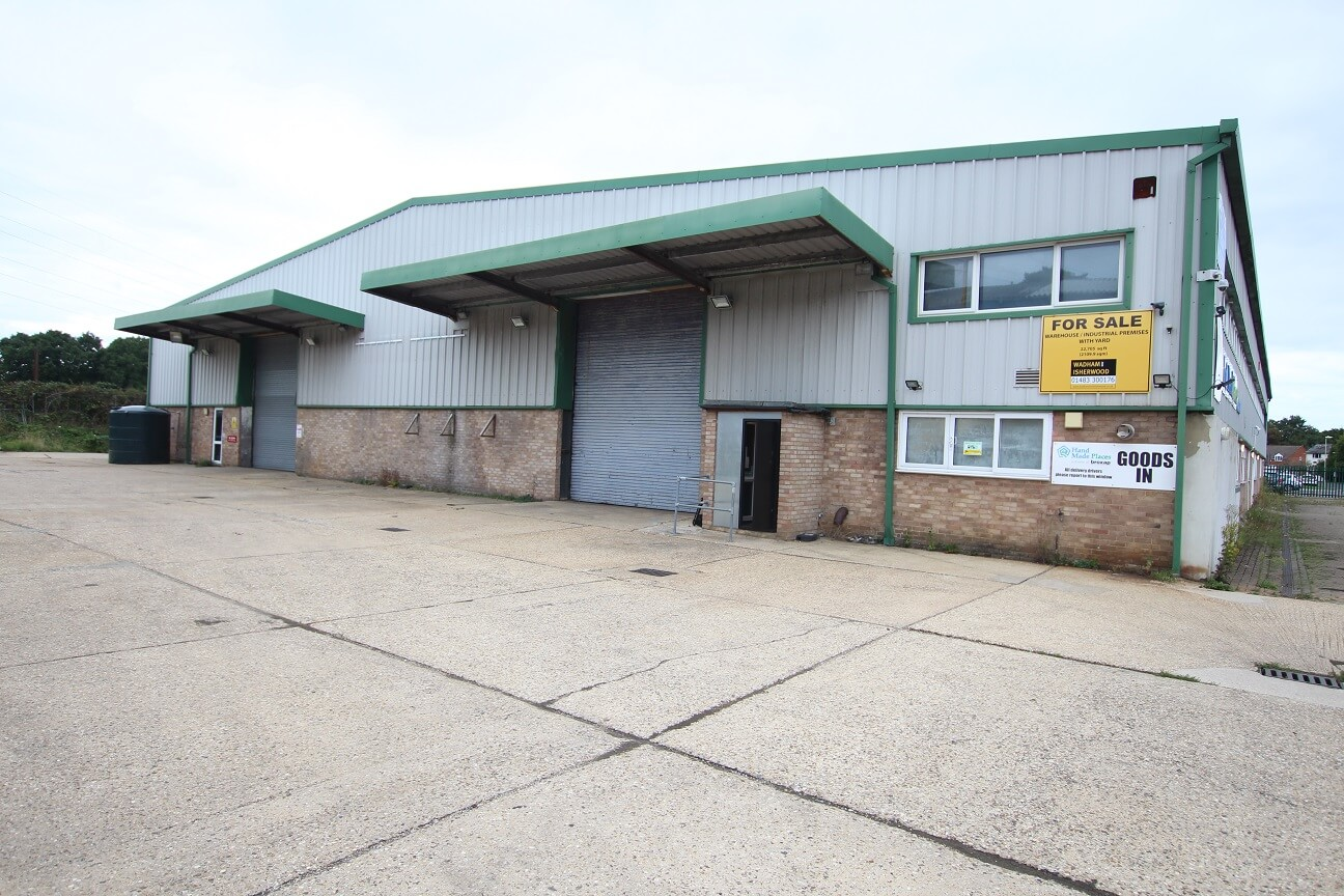 22,705 sq ft industrial/warehouse unit let within 6 weeks of going on the market! – 1 Bordon Trading Estate