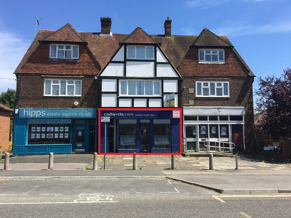 Letting of 12B Worplesdon Road, Guildford