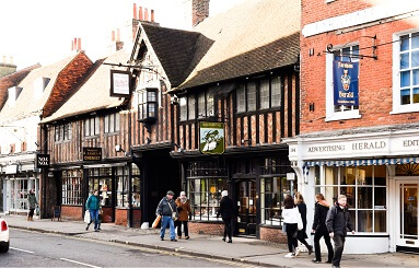 Farnham, Surrey leap to 14th ranked town in nationwide Vitality study