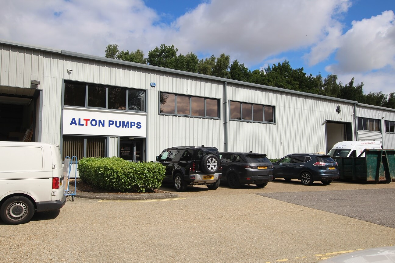 New rent record for Riverwey Industrial Park, Alton, Hampshire