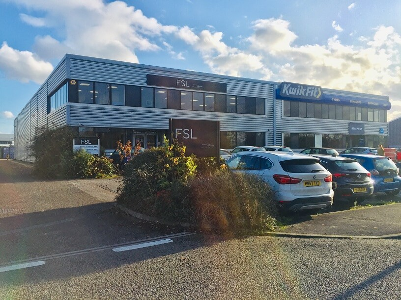 9,150 sq.ft. industrial warehouse unit prelet to Howdens Joinery