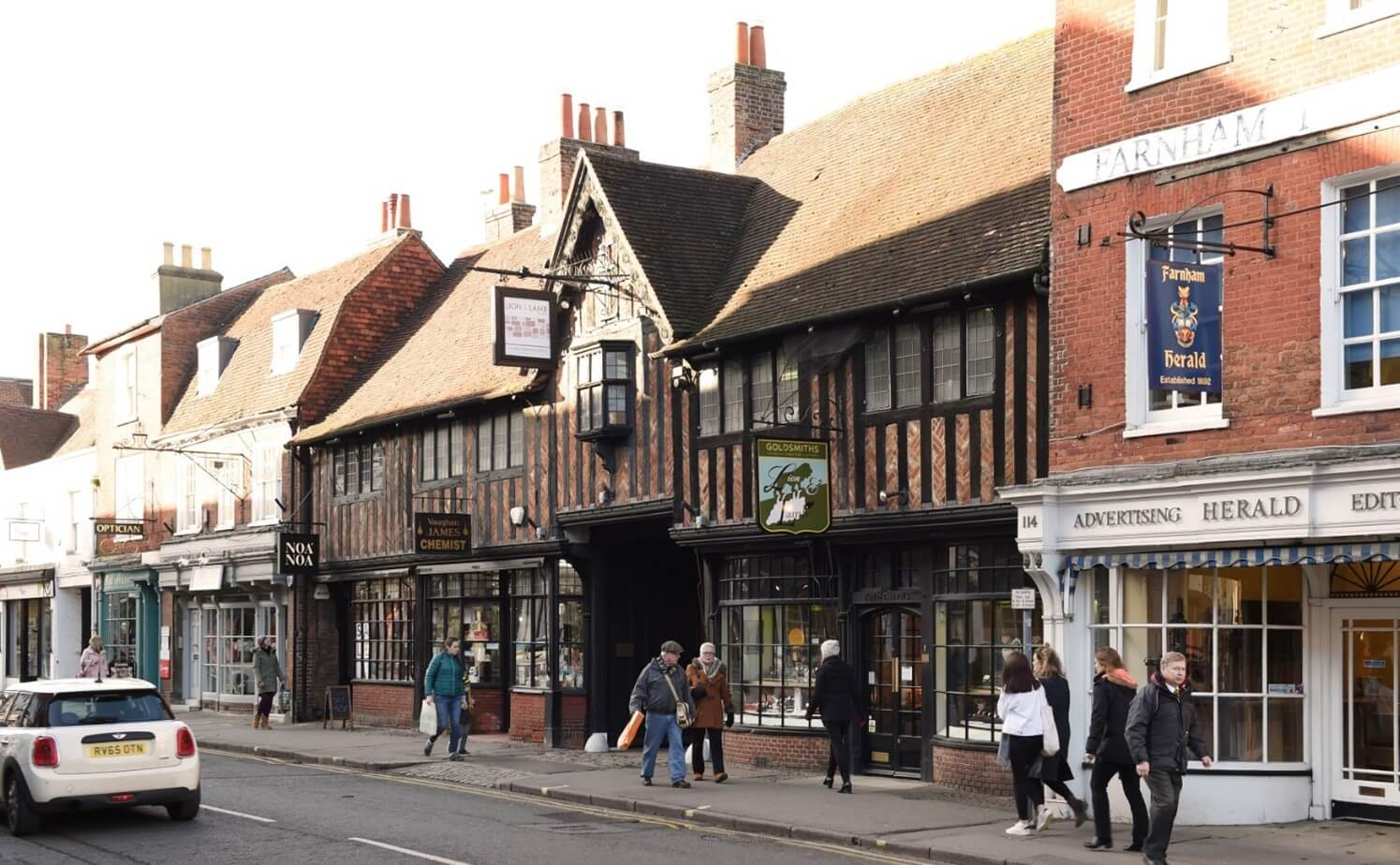 Farnham vacancy rate considerably lower than national average